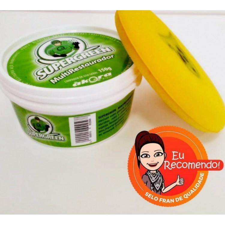 Supergreen MultiRestaurador Ákora + Esponja Supergreen para Multirestaurador