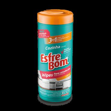 EsfreBom Wipes Panos Umedecidos Tubo - Citrus