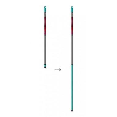 Noviça Cabo Extensor de aço ( até 1,6 m) para vassoura, rodos e pás