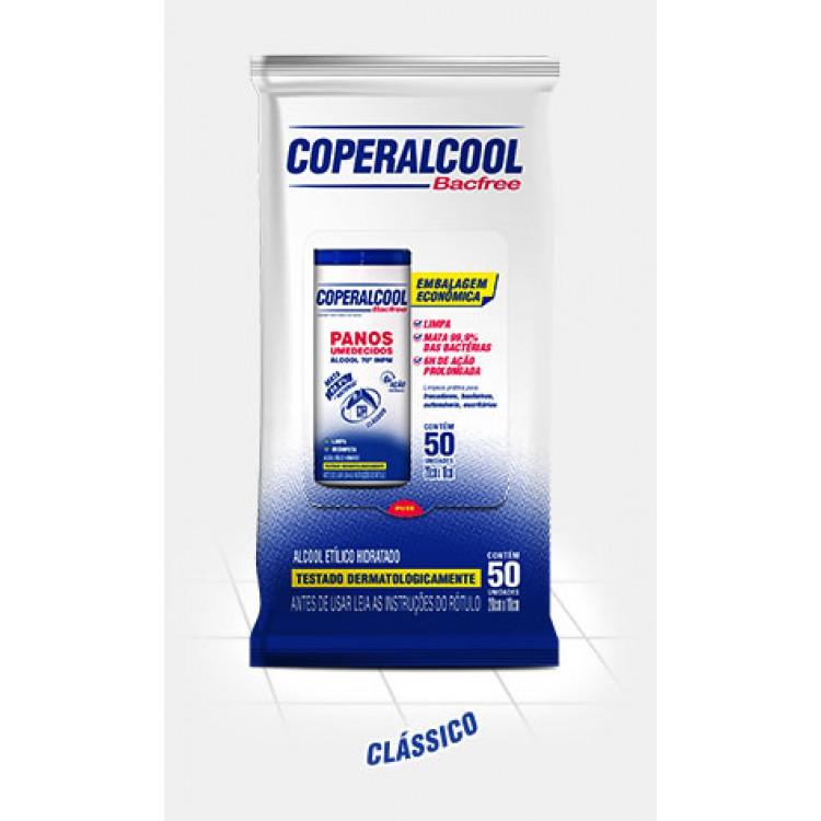 Coperalcool Bacfree  Panos Umedecidos 70º Flow Pack