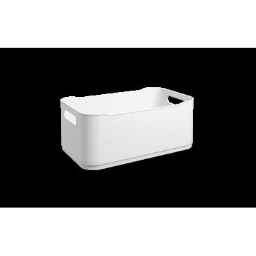 Cesta Fit Coza G - Branco 30 x 18 x 12 cm