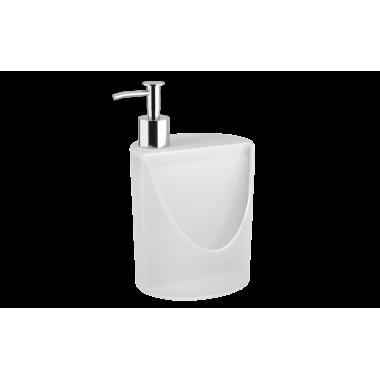 Dispenser R&J Basic 600 ml Coza - Natural 12 x 10,5 x 18 cm