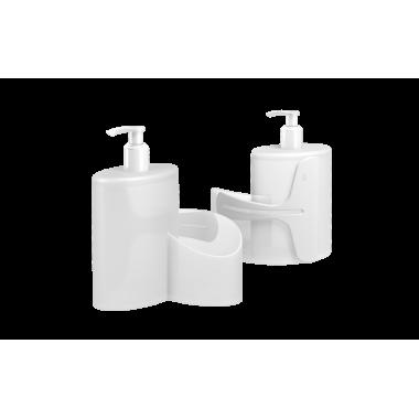 Dispenser Abraço Basic 600 ml Coza - Natural 19,7 x 8,5 x 16,6 cm