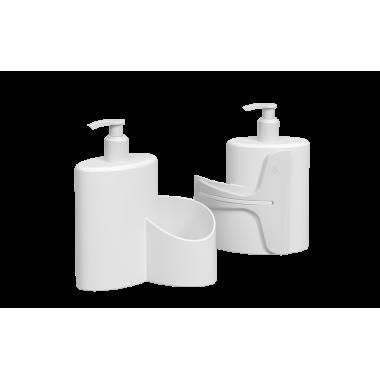 Dispenser Abraço Basic 600 ml Coza - Branco 19,7 x 8,5 x 16,6 cm