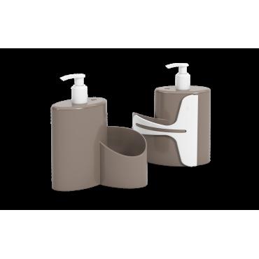 Dispenser Abraço Basic 600 ml Coza - WGR 19,7 x 8,5 x 16,6 cm
