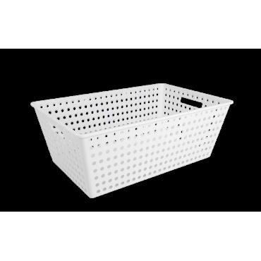 Cestão One Coza - Branco 59,5 x 38,8 x 22,3 cm