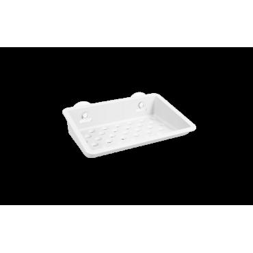 Prateleira com ventosas One Coza - Branco 15,2 x 11 x 3,8 cm
