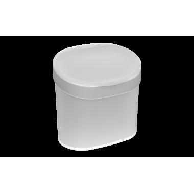 Lixeira com tampa 4 L Coza - Natural 22,8 x 15,6 x 22,4 cm