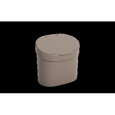 Lixeira com tampa 4 L Coza - WGR 22,8 x 15,6 x 22,4 cm