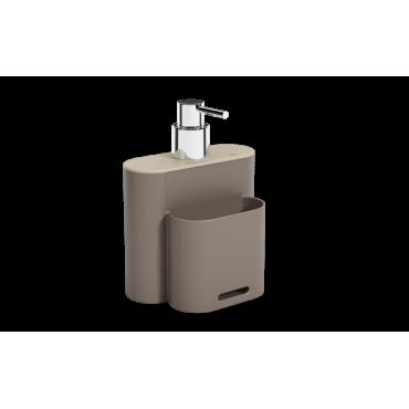 Dispenser Flat 500 ml Coza - WGR 9,0 x 13,0 x 16,5 cm