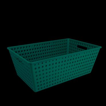Cestão One Coza - Verde Escuro 59,5 x 38,8 x 22,3 cm
