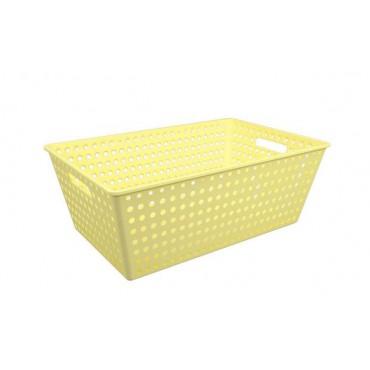 Cestão One Coza - Amarelo 59,5 x 38,8 x 22,3 cm