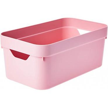 Caixa Cube P Rosa (RSQF) Ou - 29,5 x 16,5 x 12,5 cm