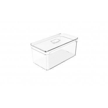 Organizador Clear Fresh 5L Natural - 30 x 15 x 13 cm