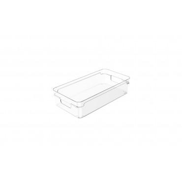 Organizador Clear 2,8L - 30 x 15 x 7 cm