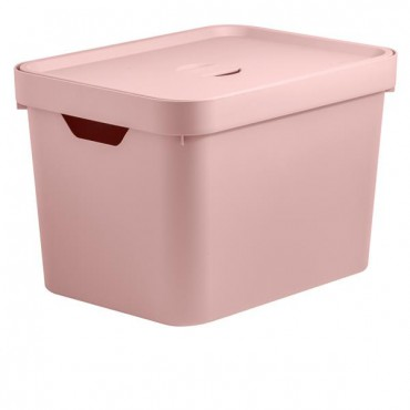 Caixa Cube M Alta Rosa (RSQF) - Ou 36 x 27 x 24,5 cm