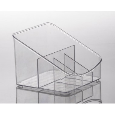 Organizador Diamond c/ 4 Divisórias Paramount -  18 x 17 x 13 cm