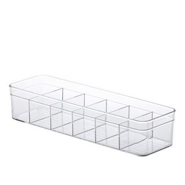 Organizador Diamond Com Divisórias  Paramount - 35,5 x 10,5 x 7,5 cm