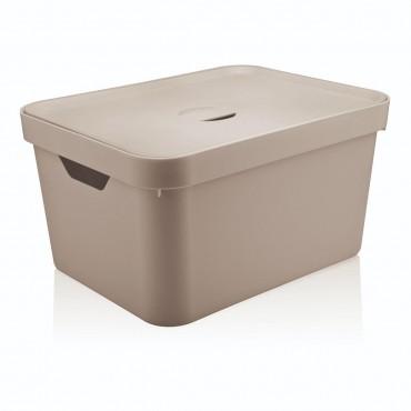 Caixa Cube G Alta Bege (BGF) - Ou 46 x 36 x 24,5 cm