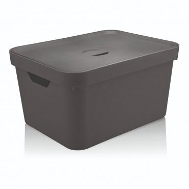 Caixa Cube G Alta Chumbo (CHF) - Ou 46 x 36 x 24,5 cm