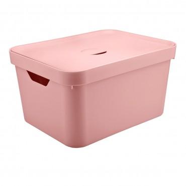 Caixa Cube G Alta Rosa (RSQF) - Ou 46 x 36 x 24,5 cm