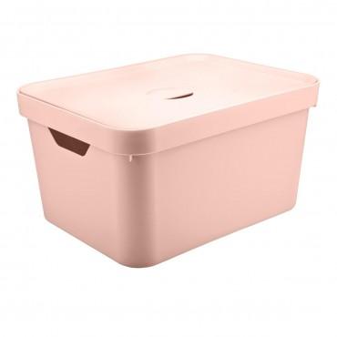 Caixa Cube G Alta Rosa Claro (RSNF) - Ou 46 x 36 x 24,5 cm