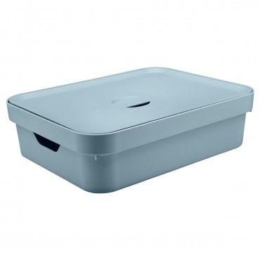 Caixa Cube G Baixa Azul (AZGF) - Ou 44,5 x 34,5 x 13 cm