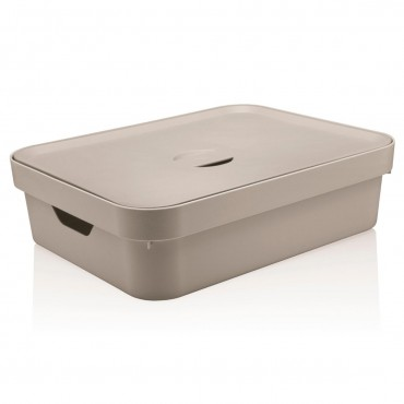 Caixa Cube G Baixa Bege (BGF) - Ou 44,5 x 34,5 x 13 cm