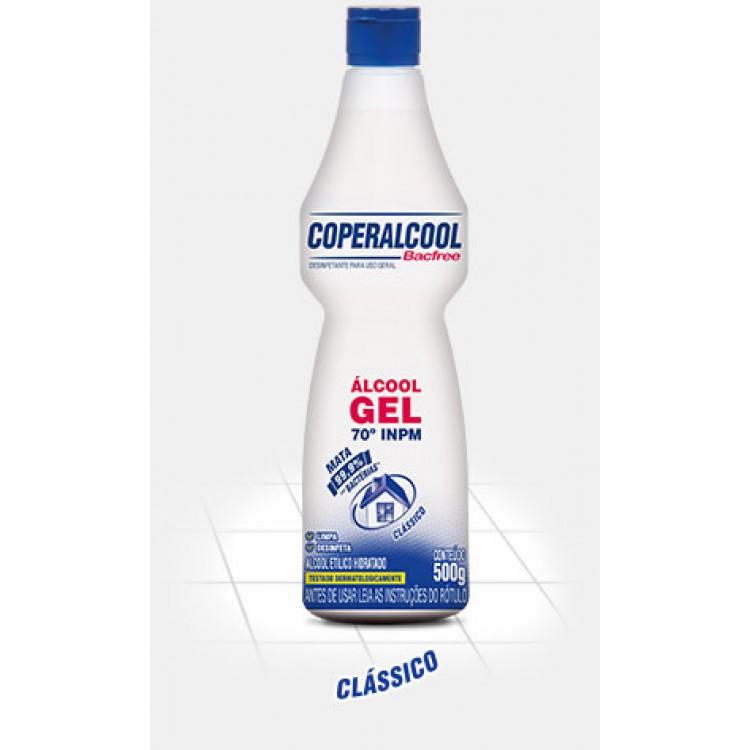 Álcool Gel Coperalcool 70° Bacfree  500 g